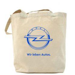 Сумка Opel Wir leben Autos - FatLine