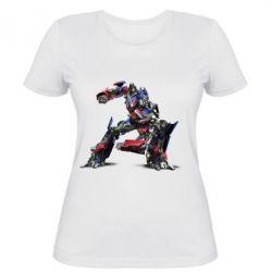 Женская футболка Оптимус Прайм
