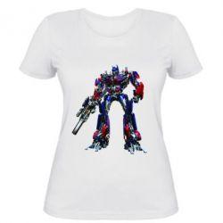 Женская футболка Optimus