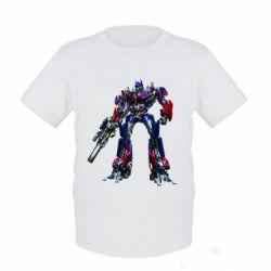 Детская футболка Optimus