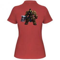 Женская футболка поло Orc