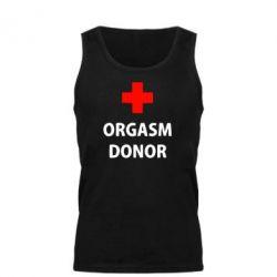 Мужская майка Orgasm Donor - FatLine