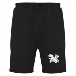 Мужские шорты Осел-курьер (Dota 2) - FatLine
