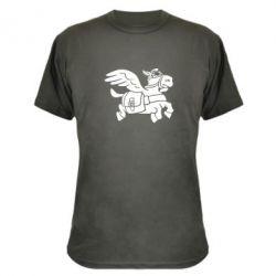 Камуфляжная футболка Осел-курьер (Dota 2) - FatLine