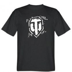 Мужская футболка Отпечаток гусениц WOT - FatLine