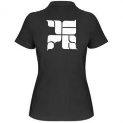 Женская футболка поло Оу74 Танкоград - FatLine