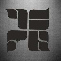 Наклейка Оу74 Танкоград - FatLine