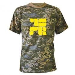Камуфляжная футболка Оу74 Танкоград - FatLine