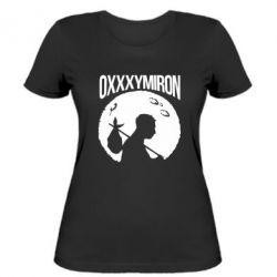 Женская футболка Oxxxymiron Долгий путь домой - FatLine