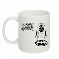 Кружка 320ml ozzy osbourne batman - FatLine