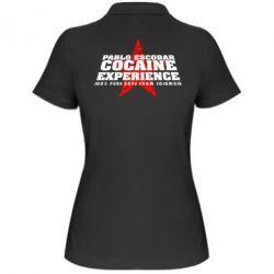 Женская футболка поло Pablo Escobar - FatLine