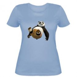 Женская футболка Падающая Панда - FatLine