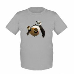 Детская футболка Падающая Панда - FatLine