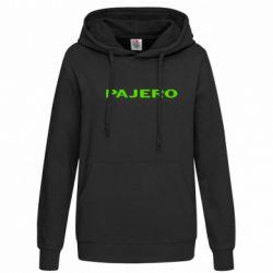 Женская толстовка PAJERO - FatLine