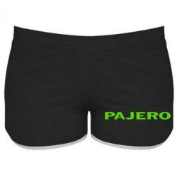 Женские шорты PAJERO