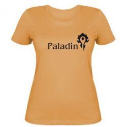 Женская футболка Paladin - FatLine