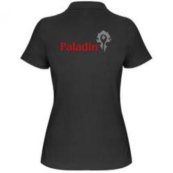 Женская футболка поло Paladin - FatLine