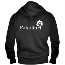 Мужская толстовка на молнии Paladin - FatLine
