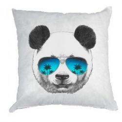 Подушка Панда в окулярах
