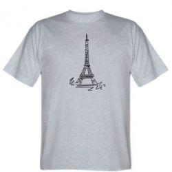 Мужская футболка Paris - FatLine