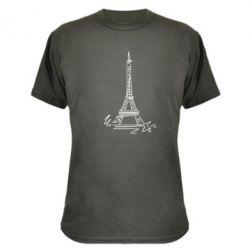 Камуфляжная футболка Paris - FatLine