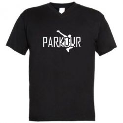 ������� ��������  � V-�������� ������� Parkour Logo - FatLine