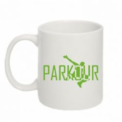 Кружка 320ml Parkour Logo - FatLine