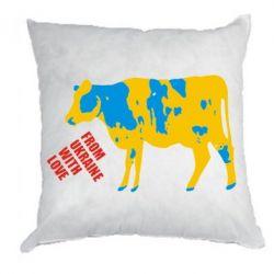 Подушка Патріотична корова