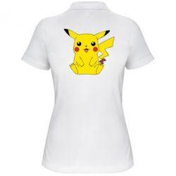 Женская футболка поло Pika