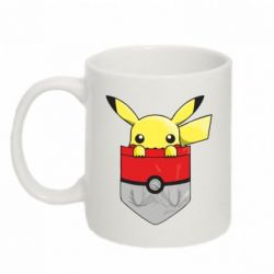 Кружка 320ml Pikachu in pocket