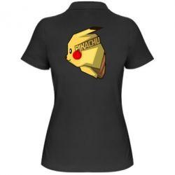 Женская футболка поло Pikachu - FatLine