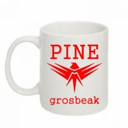 Кружка 320ml PINE Grosbeak - FatLine