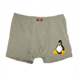 Мужские трусы Пингвин Linux - FatLine