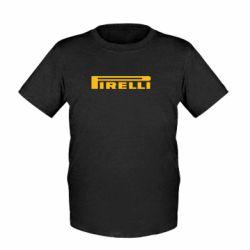 Детская футболка Pirelli - FatLine