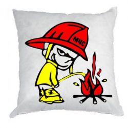 Подушка Писающий хулиган-пожарный - FatLine