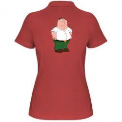 Женская футболка поло Питер Гриффин - FatLine