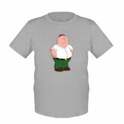 Детская футболка Питер Гриффин - FatLine