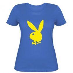 Жіноча футболка плейбой - FatLine