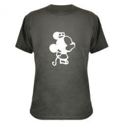 Камуфляжная футболка Поцелуй мышек (ж) - FatLine
