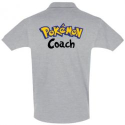 Футболка Поло Pokemon Coach