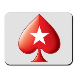 Коврик для мыши Poker Stars 3D Logo - FatLine