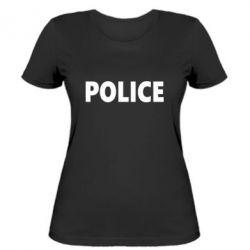 Женская футболка POLICE - FatLine