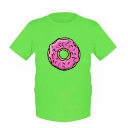 Детская футболка Пончик Гомера