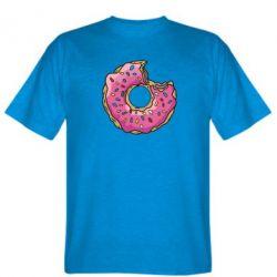 Мужская футболка Пончик - FatLine