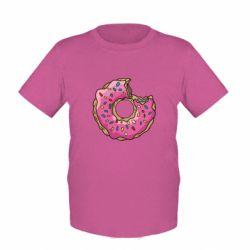 Детская футболка Пончик - FatLine