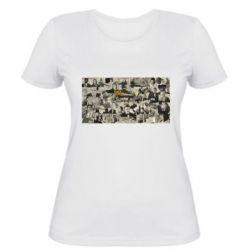 Женская футболка Постер Криминальное чтиво - FatLine