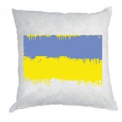 Подушка Потертый флаг Украины - FatLine