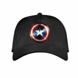 Детская кепка Потертый щит - FatLine