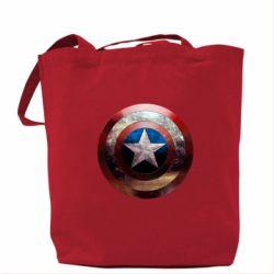 Сумка Потрескавшийся щит Капитана Америка - FatLine