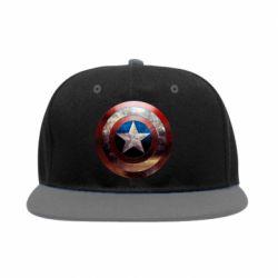 Снепбек Потрескавшийся щит Капитана Америка - FatLine